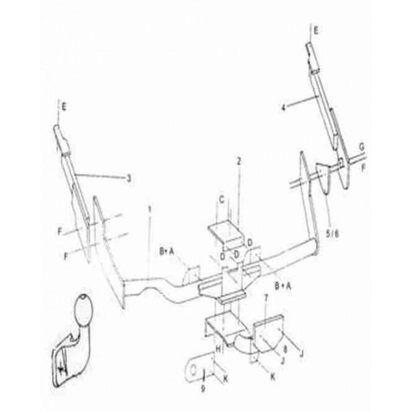 Attelage Citroen XSARA Standard 314