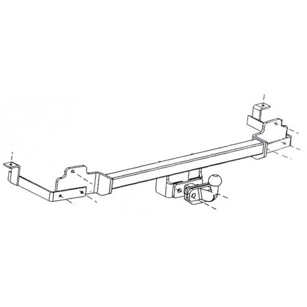 Attelage Fiat DOBLO Cargo Standard 355