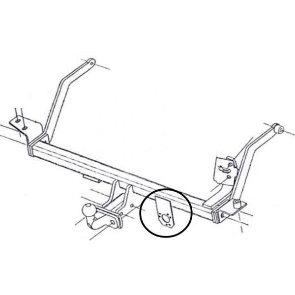 Attelage Renault SCENIC 1 Standard 1014