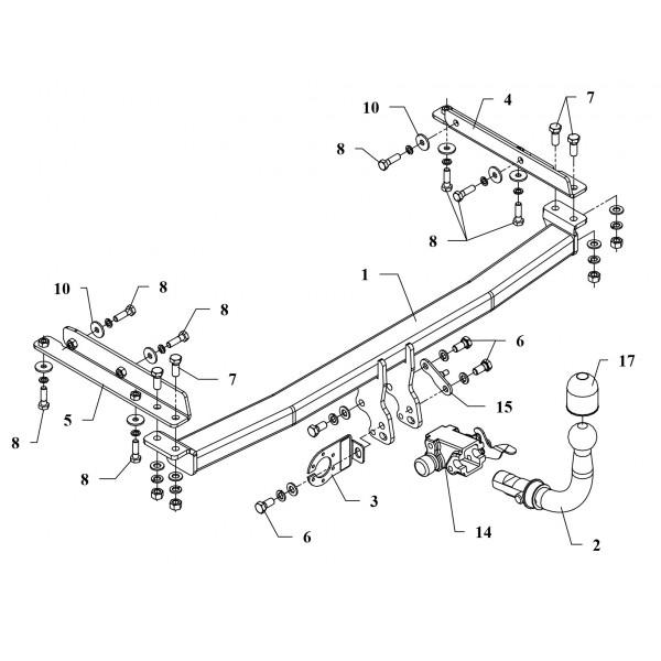 Attelage Nissan Micra RDSOH + faisceau universel 7 broches