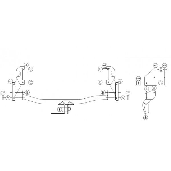 Attelage Mazda Demio Col de cygne + faisceau universel 7