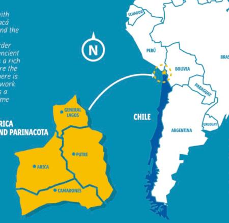 Découvrez la région <br> de Arica et Parinacota