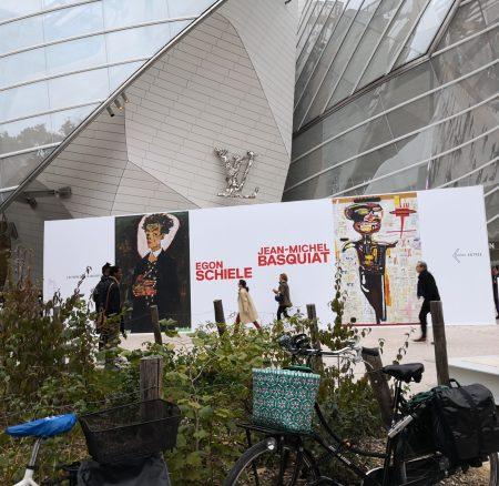 Schiele et Basquiat ensemble !