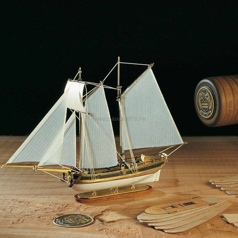 kit hannah bateau en bouteille amati 1355