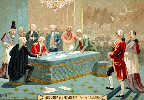 Abolition des privilèges (nuit du 4 août 1789)