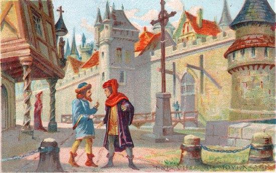 Une ville au Moyen Age