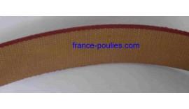 COURROIES PLATE France Poulies