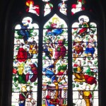 15th Century Stained glass windows in Burgundy