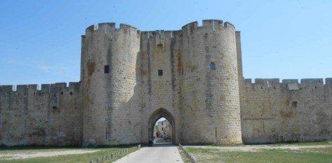 The walls of Aigues-Mortes