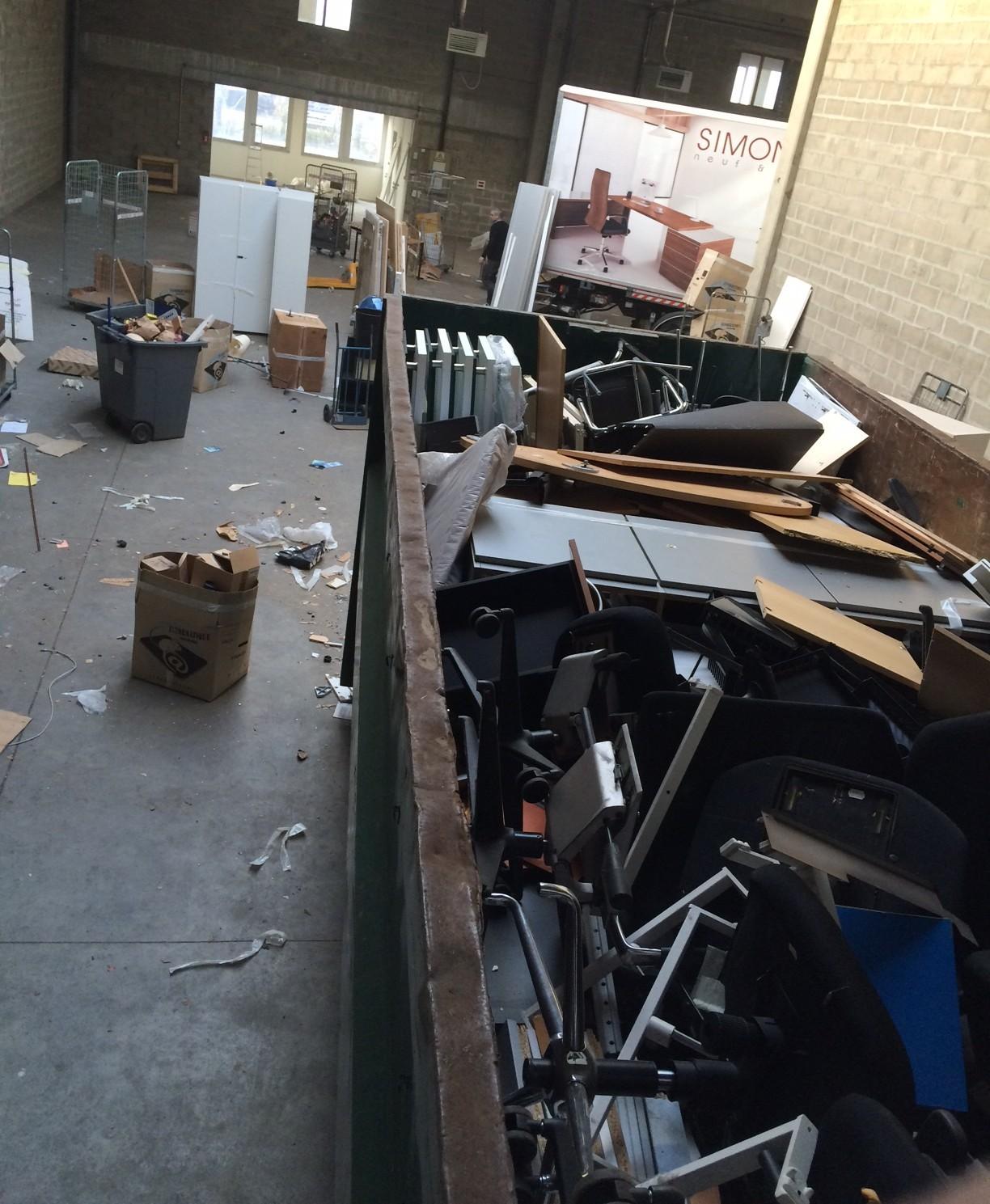 recyclage de mobilier de bureau d occasion paris