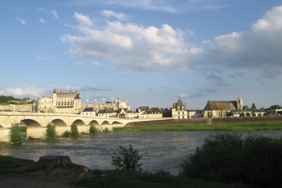 Amboise from the Loire River