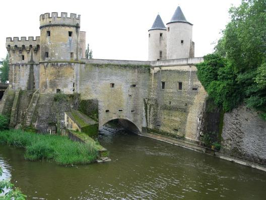 Alsace Lorraine Metz Porte Allemandes