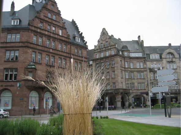 Belle Epoque buildings in Metz