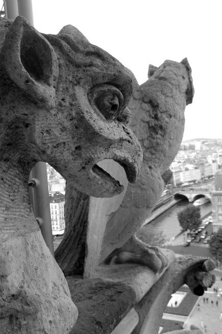 gargoyles of Paris