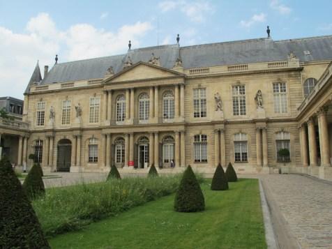 Prince of Rohan's main pavillion, Hôtel de Soubise