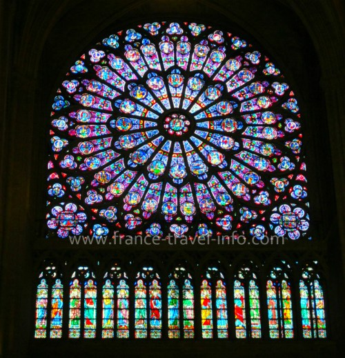 Notre Dame Paris, Rose Window