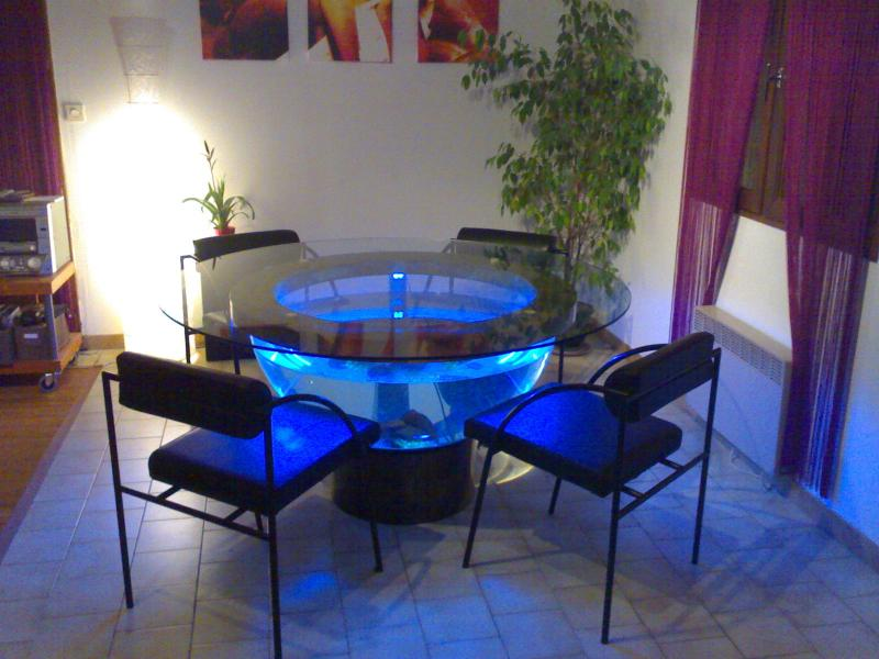 Troc Echange Table De Salon Comtemporaine Aquarium Sur