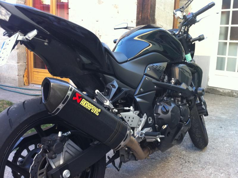 Troc Echange Z750 Full Black 6500Km Rizoma Sur