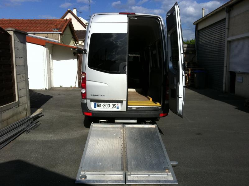 Troc Echange VW Crafter Minibus 163CV Full Opt Hayon