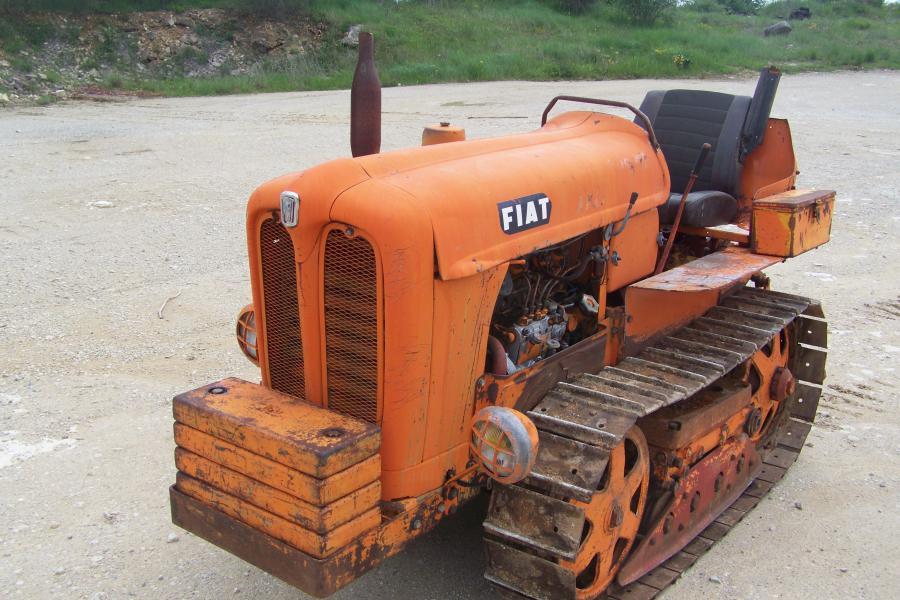 Troc Echange Tracteur A Chenilles Fiat 332c Sur France
