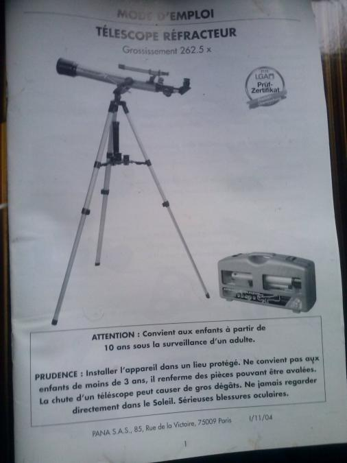 Troc Echange Lunette Astronomique Tlscope Sur France