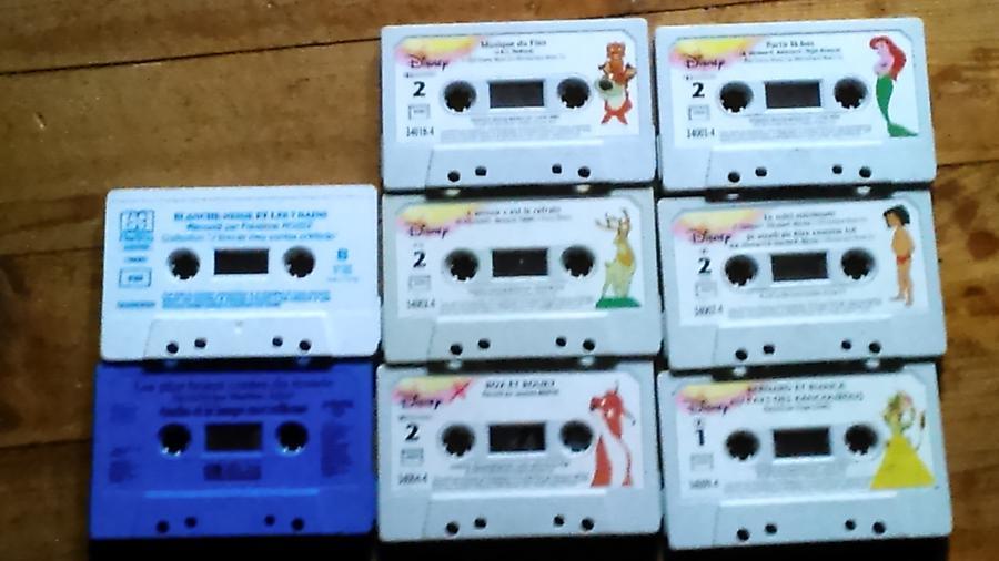 Troc Echange Lot De Cassettes Audio Disney Sur