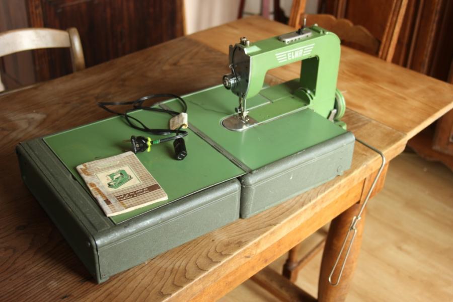 Troc Echange Machine Coudre Ancienne Elna En Tat Sur