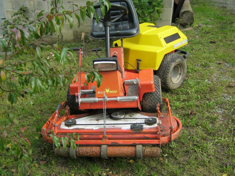 Troc Echange Tracteur Tondeuse Articuler Wolf Coupe