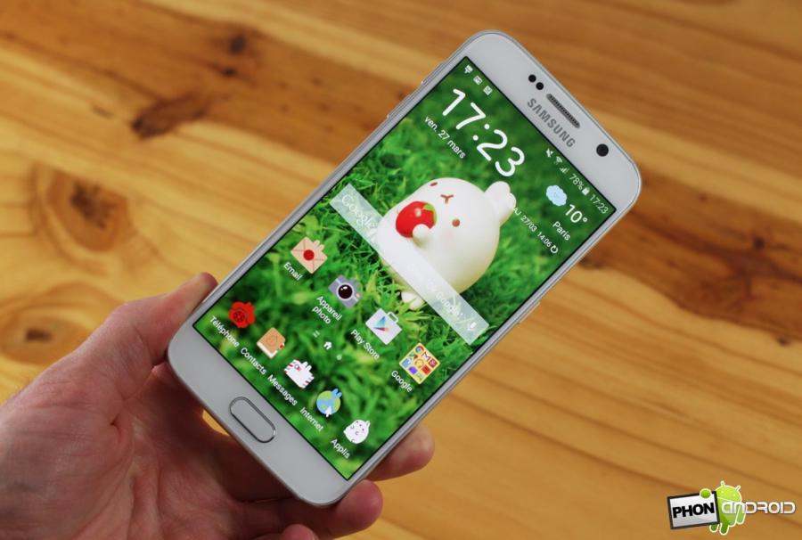 Troc Echange Samsung Galaxy S6 Blanc 32 Go Sur