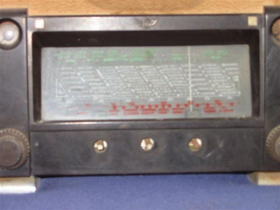 Troc Echange Poste Radio Lampes Sur