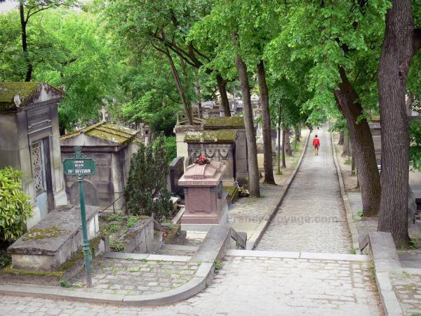 El cementerio del PreLachaise  Gua turismo y vacaciones