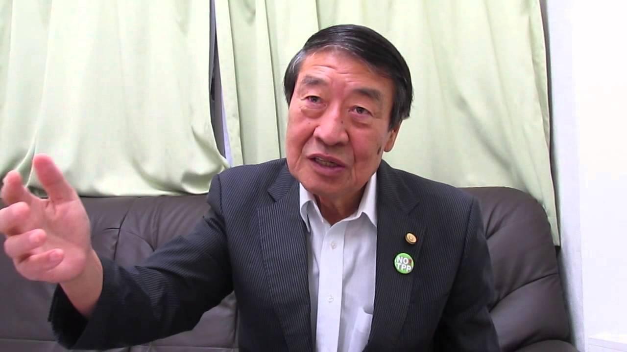 TPPは憲法違反だ!山田正彥・元農水相が「TPP差し止め」求め ...