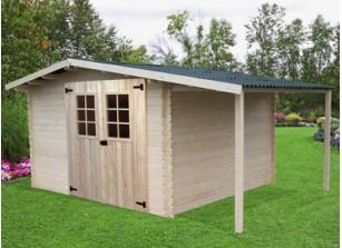 atelier de jardin en bois kit pas