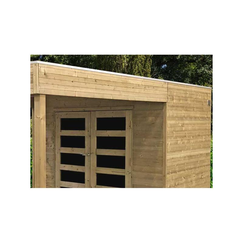abri panneaux bois autoclave de 19 mm