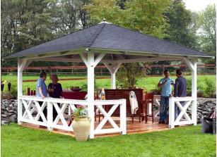 pavillon terrasse et kiosque de jardin