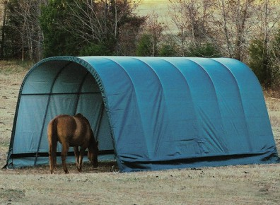 des abris en toile pour vos chevaux
