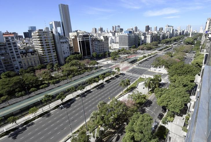 Route Plus Aires Buenos De Argentine Monde Du 9 Large La La Julio