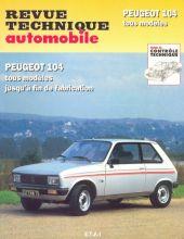 Pièces détachées pour Peugeot 104 jusqu39à 80
