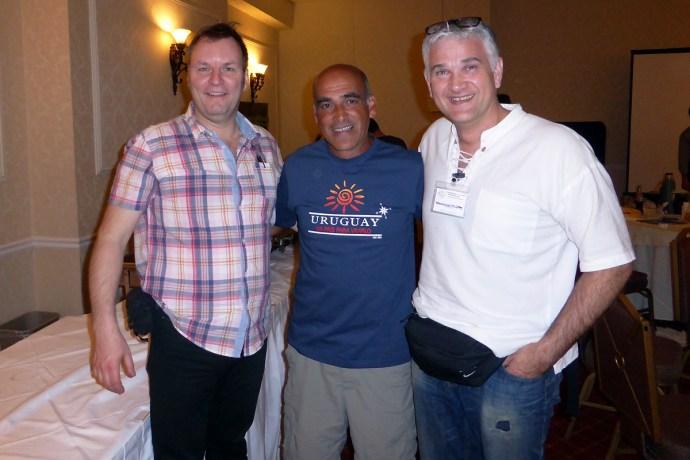 Alain Koehl, Felipe Cantera, Philippe Beaucousin.