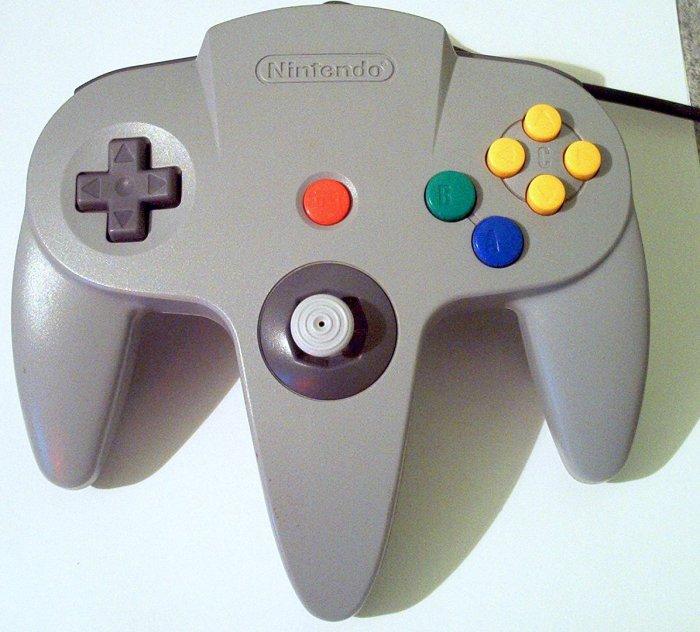 N64 controller white