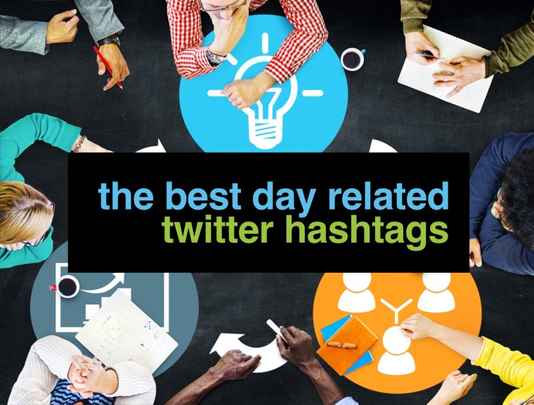 Day Related twitter Hashtags