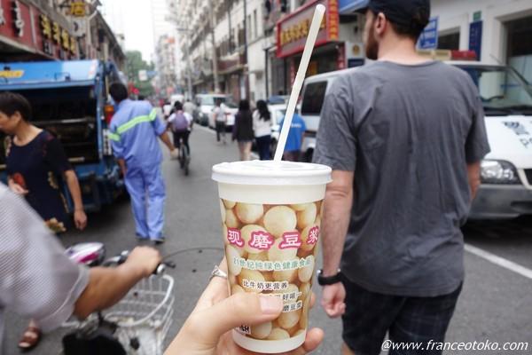 上海 豆乳 朝ご飯