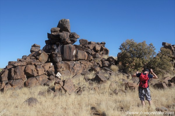 Giant's Playground ナミビアの巨人による絶景迷宮テトリス
