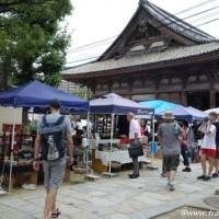 大阪で蚤の市!四天王寺の骨董市でメローにとろける