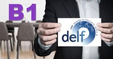 DELF B1 Présentation