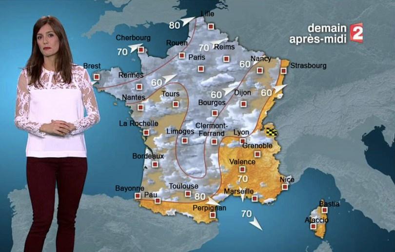 Carte 2 - la météo
