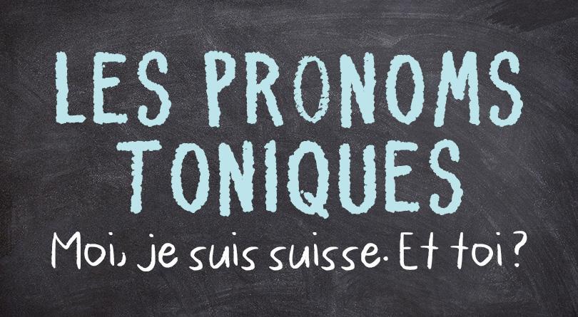 Pronoms toniques