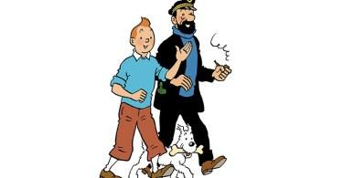 Tintin et Haddock