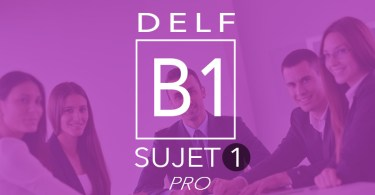 DELF Pro B1