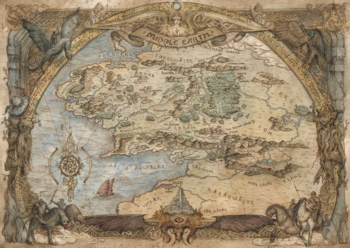 Francesca Baerald Freelance Fantasy Map Artist and Cartographer